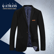 A winter leisure suit jacket Slim small suit male Korean young men's middle-aged British business single West