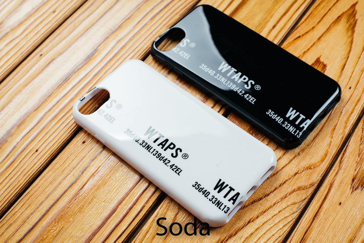 青岛现货WTAPS IPHONE CASE Iphone X  6 6s 7 8 手机壳 18SS