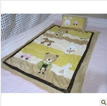 Trade short plush quilted baby quilt cover kindergarten lunch break was set by core with a small pillowcase