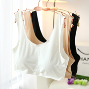 Two cartons of skin friendly breathable sleep movement without a piece of silk seamless steel ring bra bra vest