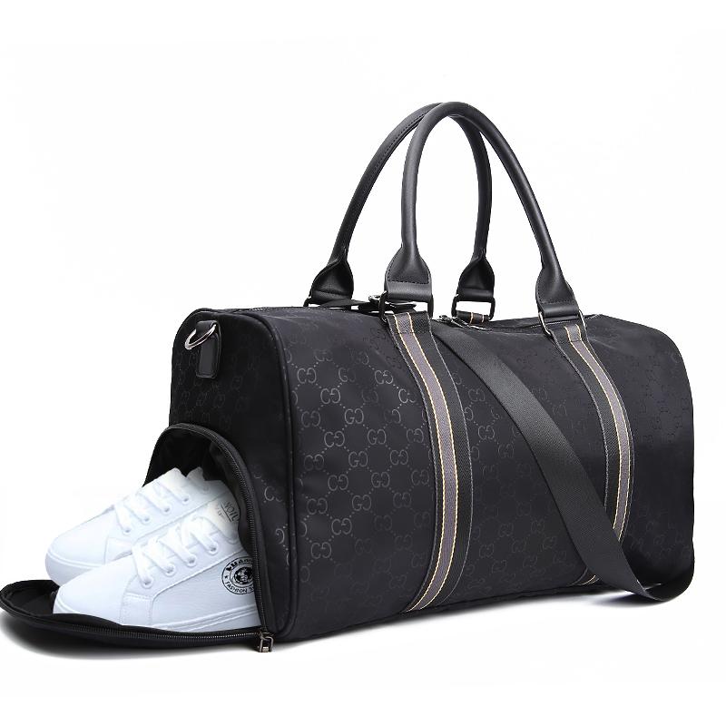 大容量旅行包女手提旅游包韩版健身包衣服行李袋短途出差包鞋袋包