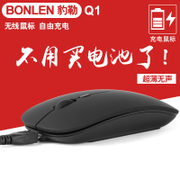 Rechargeable Wireless Mouse ultra-thin mute silent mouse portable USB cute notebook General Office
