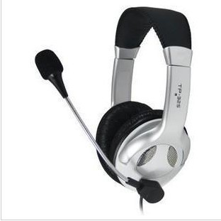 Platinum TP325 computer gaming headphone headset music remote control with microphone headset stereo package mail