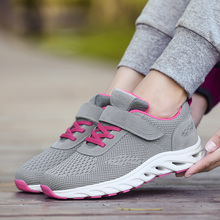 Sports shoes ladies spring and summer breathable mesh shoes elderly shoes female non-slip soft bottom middle-aged senior walking shoes mother shoes