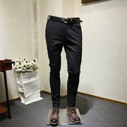 Mango department Store men Fall new style leisure style youth hundred letters embroidered trousers