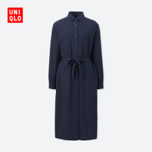 Self provided Womens flannel shirt (long sleeved dress) 400548 UNIQLO UNIQLO