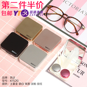 The new partner Kaida contact lenses box cosmetic contact lenses contact lenses box myopia with mirror double box tweezers