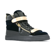 US mail Giuseppe Zanotti genuine 18 new GZ men's casual high help shoes 1
