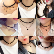 Our chain of Korean students on clavicular necklace jewelry with short neck collar fresh simple Pendant all-match personality