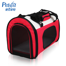 Petsfit pet cat dog bag bag bag can be folded out Tactic Dog Backpack portable bag cat dog cage