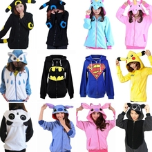 Panda Hoodies Fashion Cartoon Stitch Sweatshirts Tracksuits
