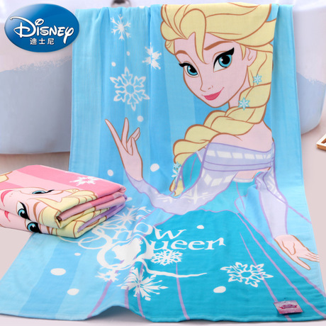 Disney Disney frozen Princess Essar beach towel bath towel bath towel Cotton gauze