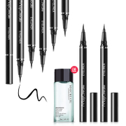 Buy 1 get 1 Eyeliner lasting waterproof anti sweat not dizzydo not bleaching makeup Eyeliner for beginners' eyes