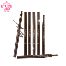 ETUDEHOUSE Edith house flagship store double eyebrow pencil waterproof smudge beginner official genuine