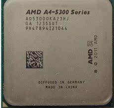 超微(AMD) A4-5300/FM2 散片