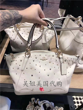 Shijiazhuang spot the United States purchasing COACH COACH small dumpling bag leather Messenger bag handbags