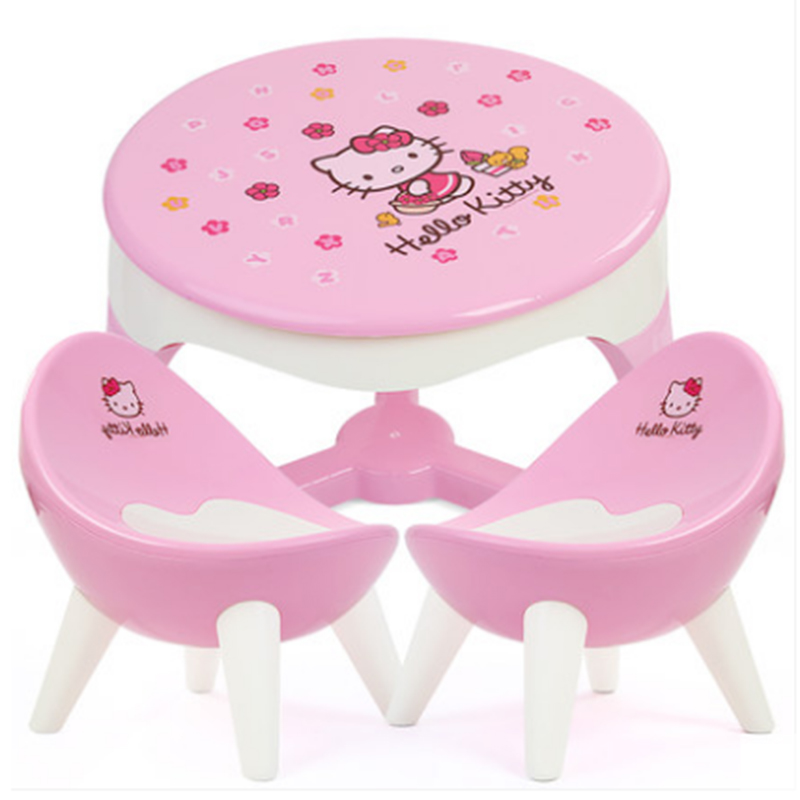 Children's table and chair set, baby toys, hand games table, kindergarten learning, writing, small books, tables, chairs, plastic