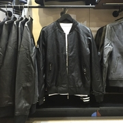 Mens JJ Mens Leather leather coat washed leather u coat leather leather leather leather coat male male