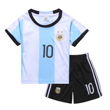 Store promotional short suit children 1-3 years old boy summer two piece girl soccer training suit