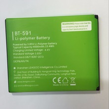 Leagoo elite 2 bt-556p original battery kiicaa power bt-591 battery