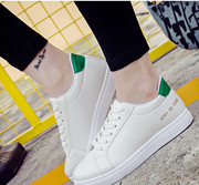 Han edition tidal flat spring new white shoes sneakers leisure sports shoes joker students 2017 summer white shoe