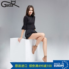 GATTA/ LAR series 15D summer GATA thin short stockings lady transparent socks and 2 pairs of installed imported from Europe