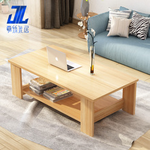 A few simple modern furniture living room side table storage easy tea table double small wooden table large-sized apartment table