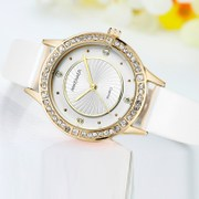 Her son Encore young girl students watch Korean fashion belt Diamond Ladies Watch Watch
