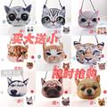 2016 new handbags winter meow star chain bag shoulder Messenger bag small kitten puppy cute little bag tide