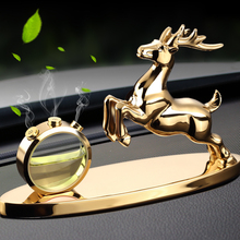 Net red road safety, deer car decoration car accessories, vehicle perfume supplies trolley, man and woman