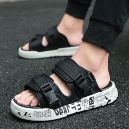 牧集男士凉鞋夏季室外鞋子男防滑拖鞋沙滩鞋一字拖韩版夏天人字拖