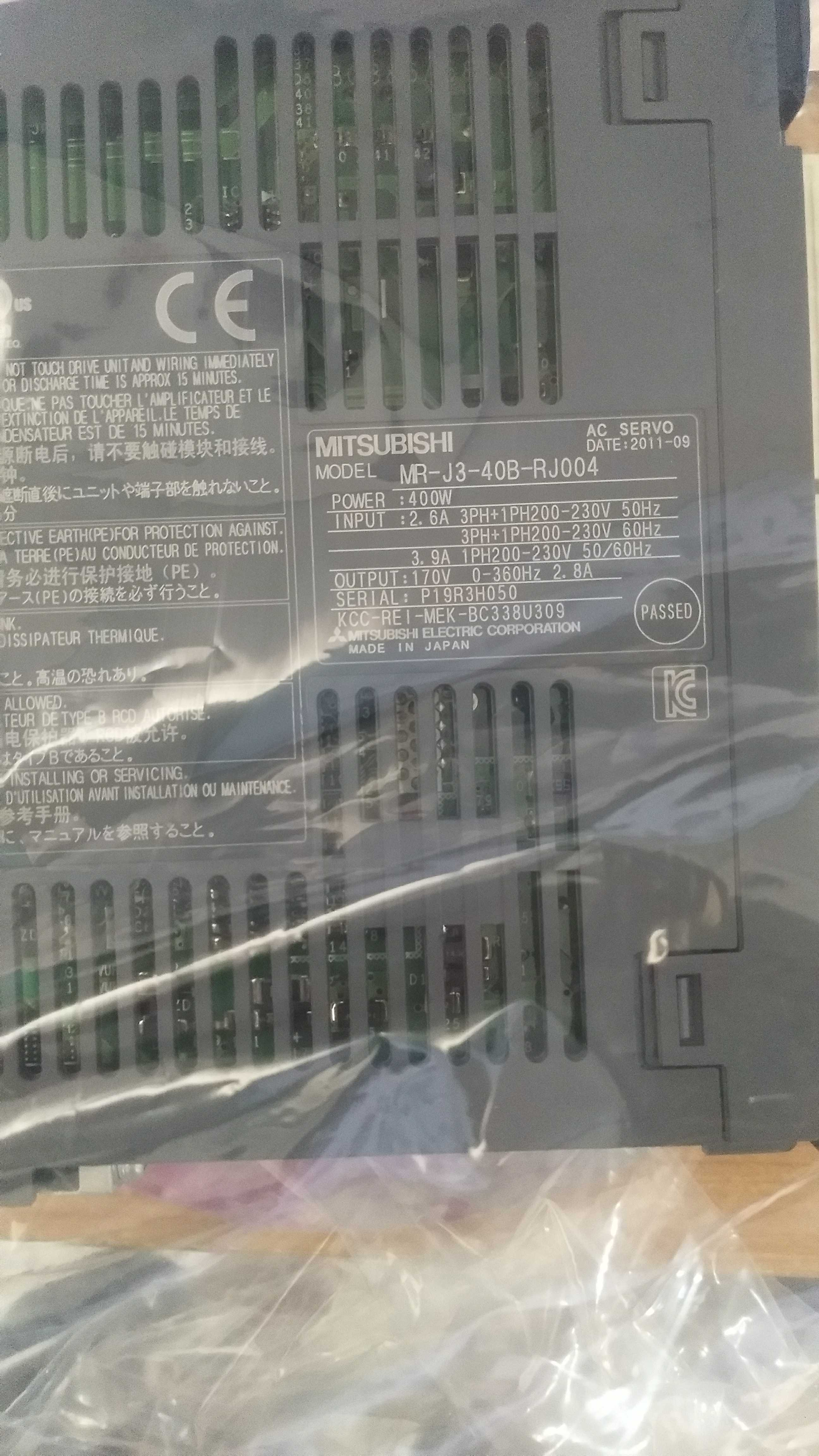 Mitsubishi Servo Driver MR-J3-40A NEW One NEW