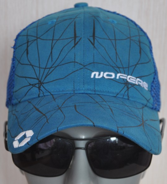 Blue Baseball Hat, spring mesh, sun hat, breathable sports, casual fashion, travel, men and women