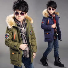 Children's clothing Adidas boy padded jacket 10 children big boy 15 years old 12 thick warm winter jacket