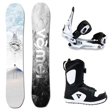 Snowboard single board suit single board holder snowshoe all-round board flat board