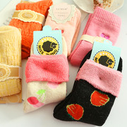 A special offer winter socks children socks thickening in tube socks in winter warm socks and cashmere wool terry towel for pregnant women