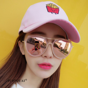 Zhou Yangqing with western style trimming trendsetter all-match toad sunglasses sunglasses 2017 new pilot shipping