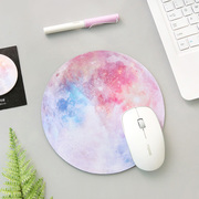 System character star, mouse pad, soft rubber mat, small fresh circular notebook pad