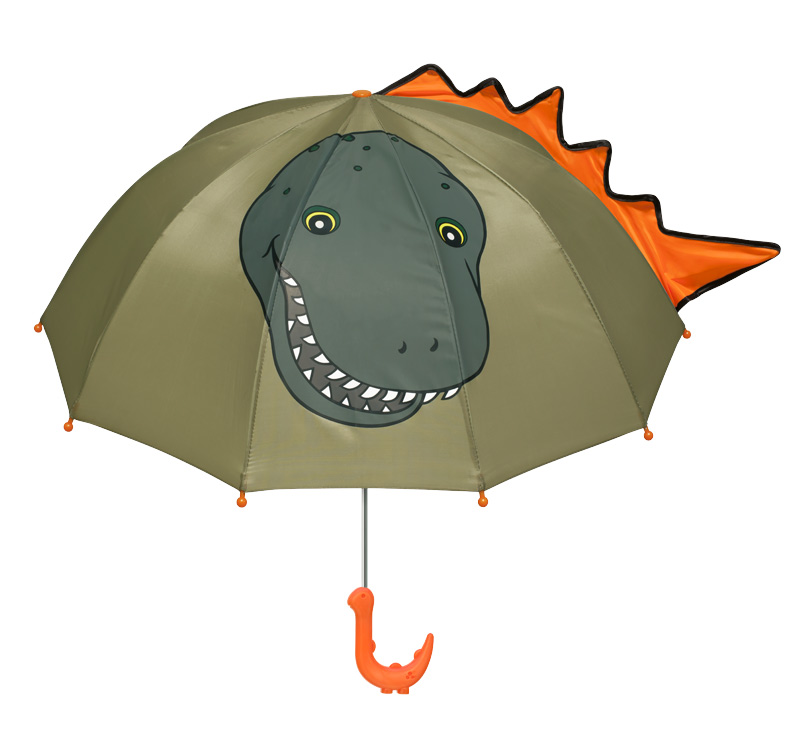 Shipping kidorable gifts for children in child protection umbrella sunshade dinosaurs (Army Headquarters)