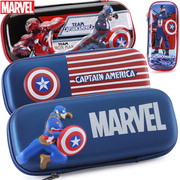 Disney Captain Marvel boy pupils American pen pencil box pencil bag children creative capacity