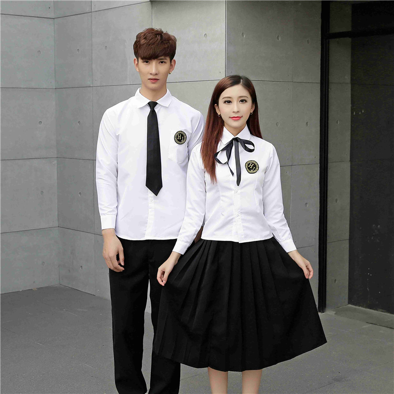 Summer short sleeve shirt, JK uniform, pleated skirt, school Feng Shui hand clothing, Japanese class uniforms, female students uniforms set