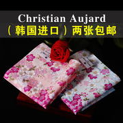 Korea purchasing Lady thin soft cotton handkerchief cherry ladies handkerchiefs lovers gifts (two packages-mail)
