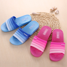 The 2016 summer cool Korean Home Furnishing indoor bathroom slippers color male ladies wear non slip bath slippers