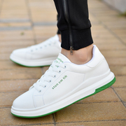 The new Korean male shoes autumn white shoes white sports shoes all-match breathable shoes young men's shoes