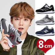 The fall of leather shoes for men 6cm8cm10cm stealth by Korean all-match climax shoes leisure shoes