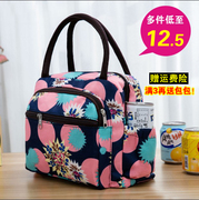 Thick waterproof Multi Pocket Oxford Canvas Tote lunch bag mummy bag hand bag cloth small mom