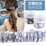 Hair band Tousheng Korean small fresh female simple ring jewelry Sen hair rope headdress all-match adult personality