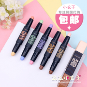 Shipping PONY recommended Etude Korea play101 double color & high light shadow pen rod rod