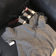Kitchclassic forest home love Korea all-match retention hooded false two lazy 2 color sweater