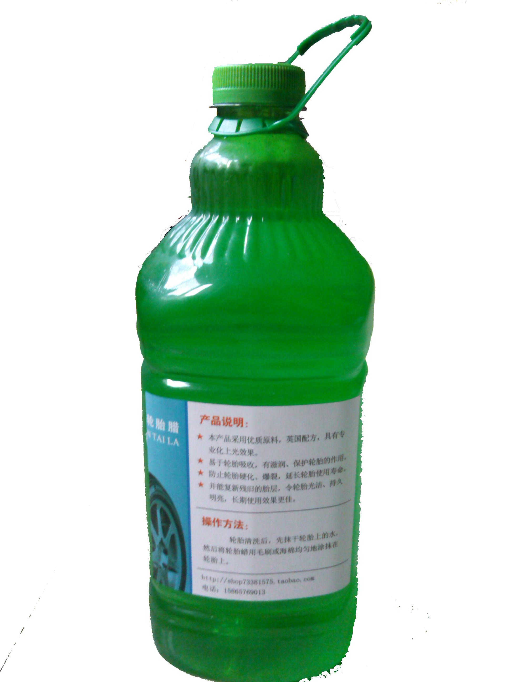 Zero profit tire tire tire wax glaze brightener barrel 1:6 against water 2.2 kg hair brush